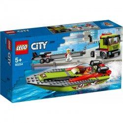 60254 LEGO® CITY TRANSPOSRTER ŁODZI WYŚCIGOWEJ