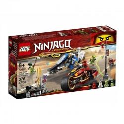 70667 LEGO® NINJAGO LEGACY MOTOCYKL KAIA I SKUTER ZANE'A