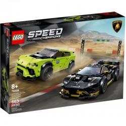 76899 LEGO® SPEED CHAMPIONS LAMBORGHINI URUS ST-X I LAMBORGHINI HURACAN SUPER TROFEO