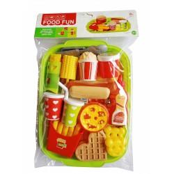 424635 ZESTAW KUCHENNY FAST FOOD