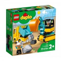 10931 LEGO® DUPLO CIĘŻARÓWKA I KOPARKA GĄSIENICOWA