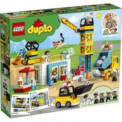 10933 LEGO® DUPLO ŻURAW WIEŻOWY I BUDOWA