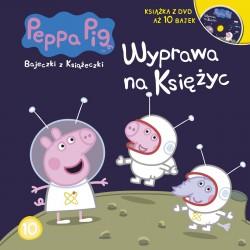 946204 KSIĄŻECZKA + DVD ŚWINKA PEPPA WYPRAWA NA KSIĘŻYC