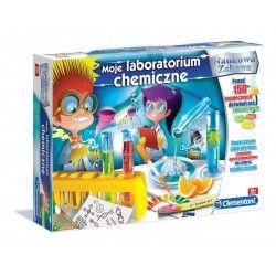 60250 CLEMENTONI MOJE LABORATORIUM CHEMICZNE