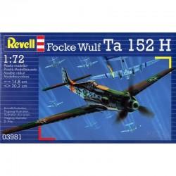 03981 REVELL FOCKE WULF TA 152 H