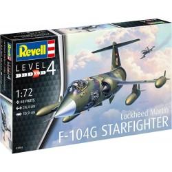 03904 REVELL LOCKHEED MARTIN F-104G STAFIGHTER