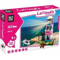 501828 KLOCKI BLOCKI LALILANDIA LATARNIA MORSKA