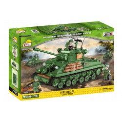 2533 COBI SMALL ARMY SHERMAN M4A3E8 AMERYKAŃSKI CZOŁG