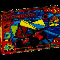 2001822 SUPERMAG KLOCKI MAGNETYCZNE TAGS WHEELS 65 EL