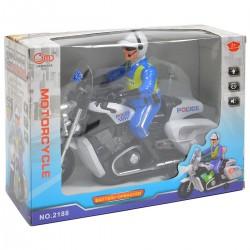 462229 MOTOR MOTOCYKL POLICYJNY 26 CM ŚWIATŁO DŹWIĘK