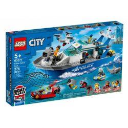 60277 LEGO CITY POLICYJNA ŁÓDŹ PATROLOWA
