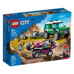 60288 LEGO CITY TRANSPORTER ŁAZIKA WYŚCIGOWEGO