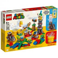 LEGO 71380 SUPER MARIO MISTRZOWSKIE PRZYGODY ZESTAW TWÓRCY