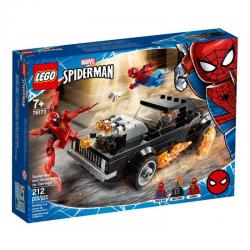 76173 LEGO MARVEL SPIDER-MAN I UPIORNY JEŹDZIEC KONTRA CARNAGE