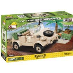 2402 COBI SMALL ARMY POJAZD KUBELWAGEN VW TYP 82