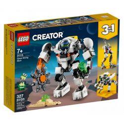 31115 LEGO CREATOR KOSMICZNY ROBOT GÓRNICZY