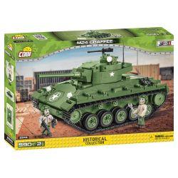 2543 COBI SMALL ARMY AMERYKAŃSKI CZOŁG M24 CHAFFEE