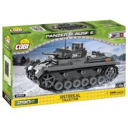 2707 COBI SMALL ARMY PANZER III AUSF.E NIEMIECKI CZOŁG