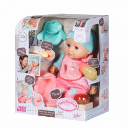 702987 LALKA BOBAS BABY ANNABELL LUNCH TIME