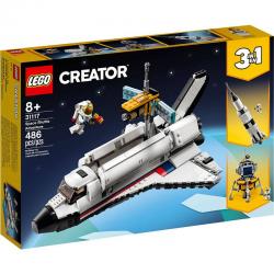 31117 LEGO CREATOR PRZYGODA W PROMIE KOSMICZNYM