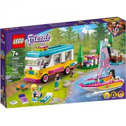 41681 LEGO FRIENDS LEŚNY MIKROBUS KEMPINGOWY I ŻAGLÓWKA