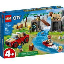 60301 LEGO CITY TERENÓWKA RATOWNIKÓW DZIKICH ZWIERZĄT