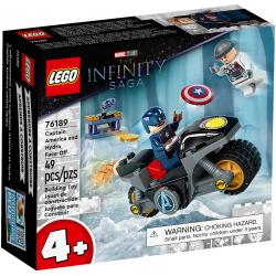 76189 LEGO MARVEL SUPER HEROES KAPITAN AMERYKA I POJEDYNEK Z HYDRĄ