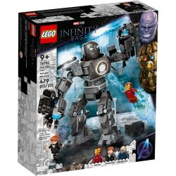 76190 LEGO MARVEL SUPER HEROES IRON MAN ZADYMA Z IRONMONGEREM