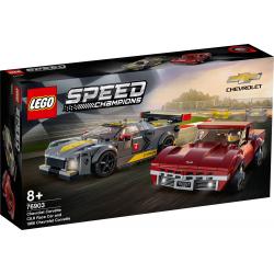 76903 LEGO SPEED CHAMPIONS CHEVROLET CORVETTE C8.R I 1968