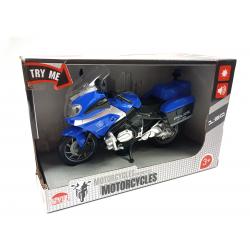 828351 MOTOR MOTOCYKL POLICYJNY POLICJA