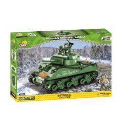 2550 COBI SMALL ARMY CZOŁG SHERMAN M4A3E2 JUMBO