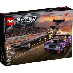 76904 LEGO SPEED CHAMPIONS MOPAR DODGE FUEL DRAGSTER