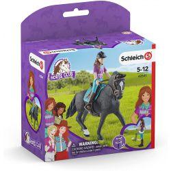 42541 SCHLEICH HORSE CLUB FIGURKI LISA & STORM KOŃ