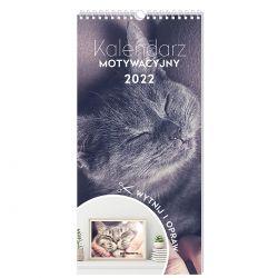 300126 KALENDARZ MOTYWACYJNY ZWIERZĘTA 2022