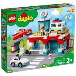 10948 LEGO DUPLO PARKING PIĘTROWY I MYJNIA SAMOCHODOWA